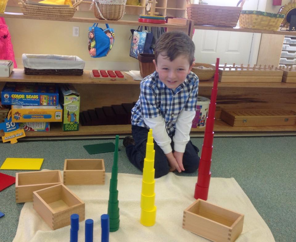 building towers with the cylinder blocks