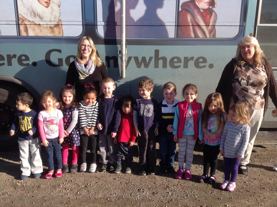A visit from the Bookmobile