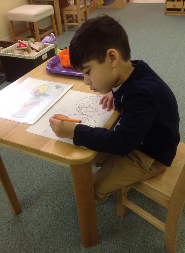 Concentrating on the continents