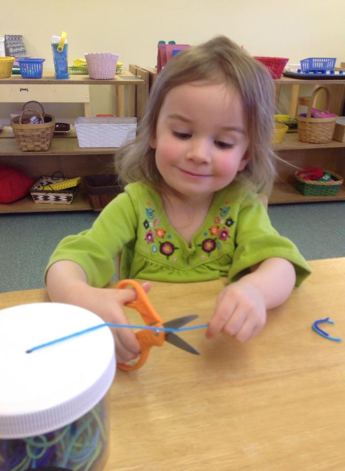 preschool cutting