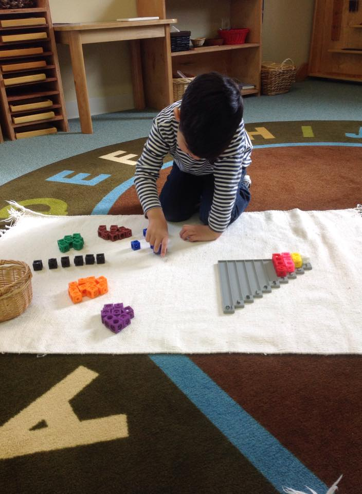 Sorting and counting cubes