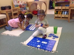 working with the alphabet insta-learn boards