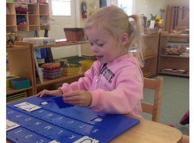 Canton Preschool Capital Letters