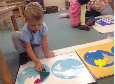 Canton Preschool Geography