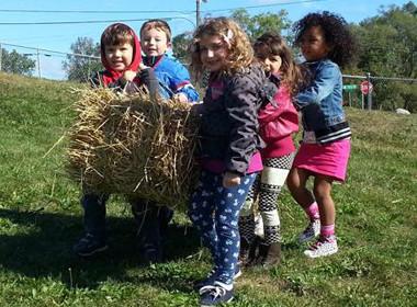 Canton Preschool Hay Bale