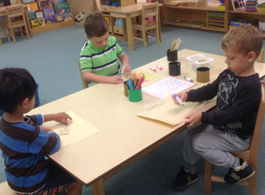 Canton Preschool Writing