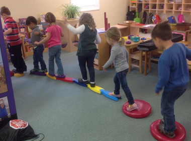 Canton Preschool Monkey Play