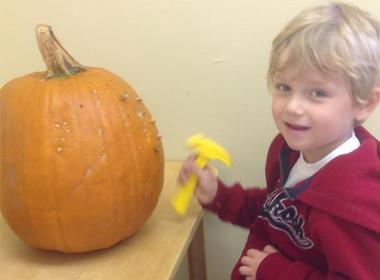 Canton Preschool Pounding Pumpkins