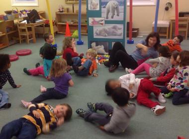 Preschool Canton Monkey Play
