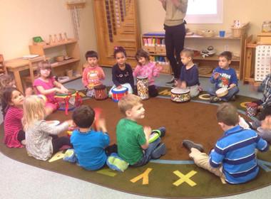 Preschool Canton Drum Circle
