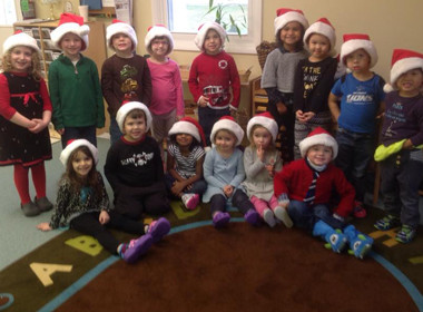 Canton Preschool Christmas Hats
