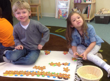 CantonPreschool Gingerbread Math
