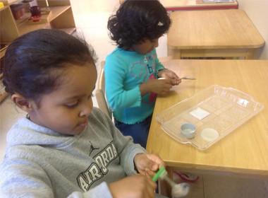 Canton Preschool Practical Life
