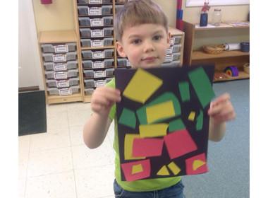 Preschool Art Collage