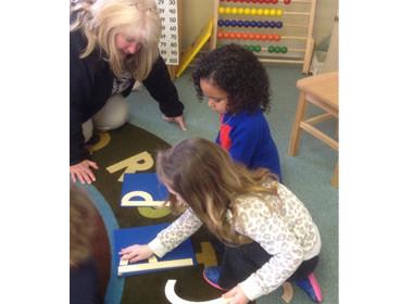 Preschool Build Letters