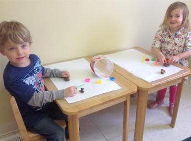 Preschool Clay Art