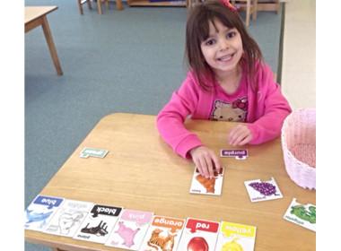 Preschool Color Nouns