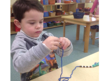 Preschool Lacing Beads