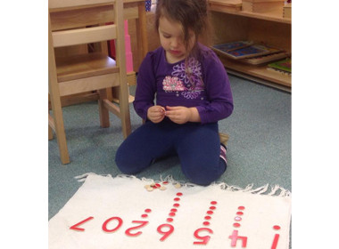 Preschool Math Dots