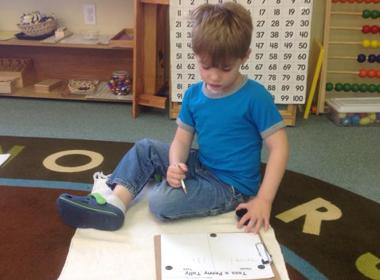 Preschool Math Tally