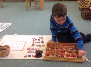 Preschool Moveable Alphabet