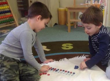 Preschool Patterning Numbers
