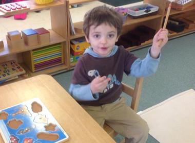 Preschool Sensorial Puzzle