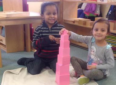 Sensor Pink Tower