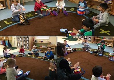 preschool drum circle